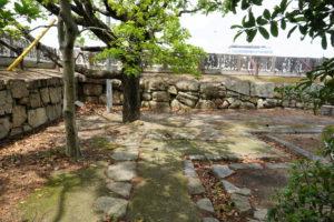 伊部櫓跡(東側より)