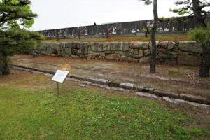 多門櫓跡-2ー中の段 北側ー