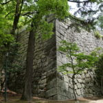 数寄方櫓台の石垣
