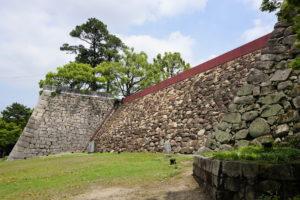 中の段南西の石垣ー大納戸櫓跡下よりー