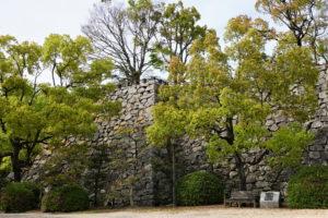 大納戸櫓の石垣