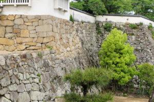 不明門下の石垣-2