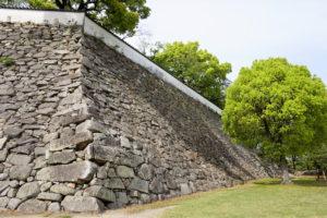 本段南東の高石垣