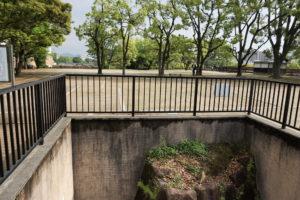 秀家築城当時の石垣と中の段